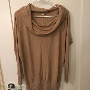Anthropologie cowl neck top